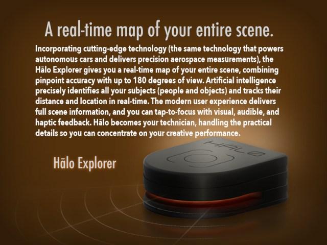 Halo detector