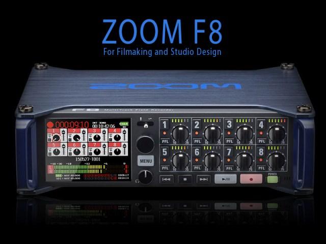Zoom F8 v2