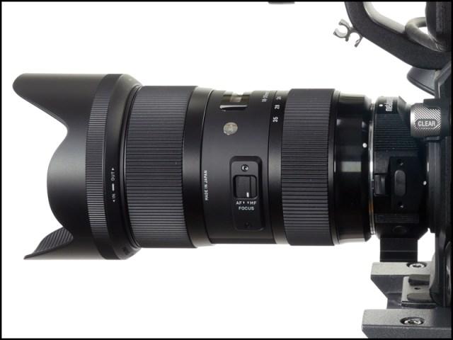 Sigma lens side