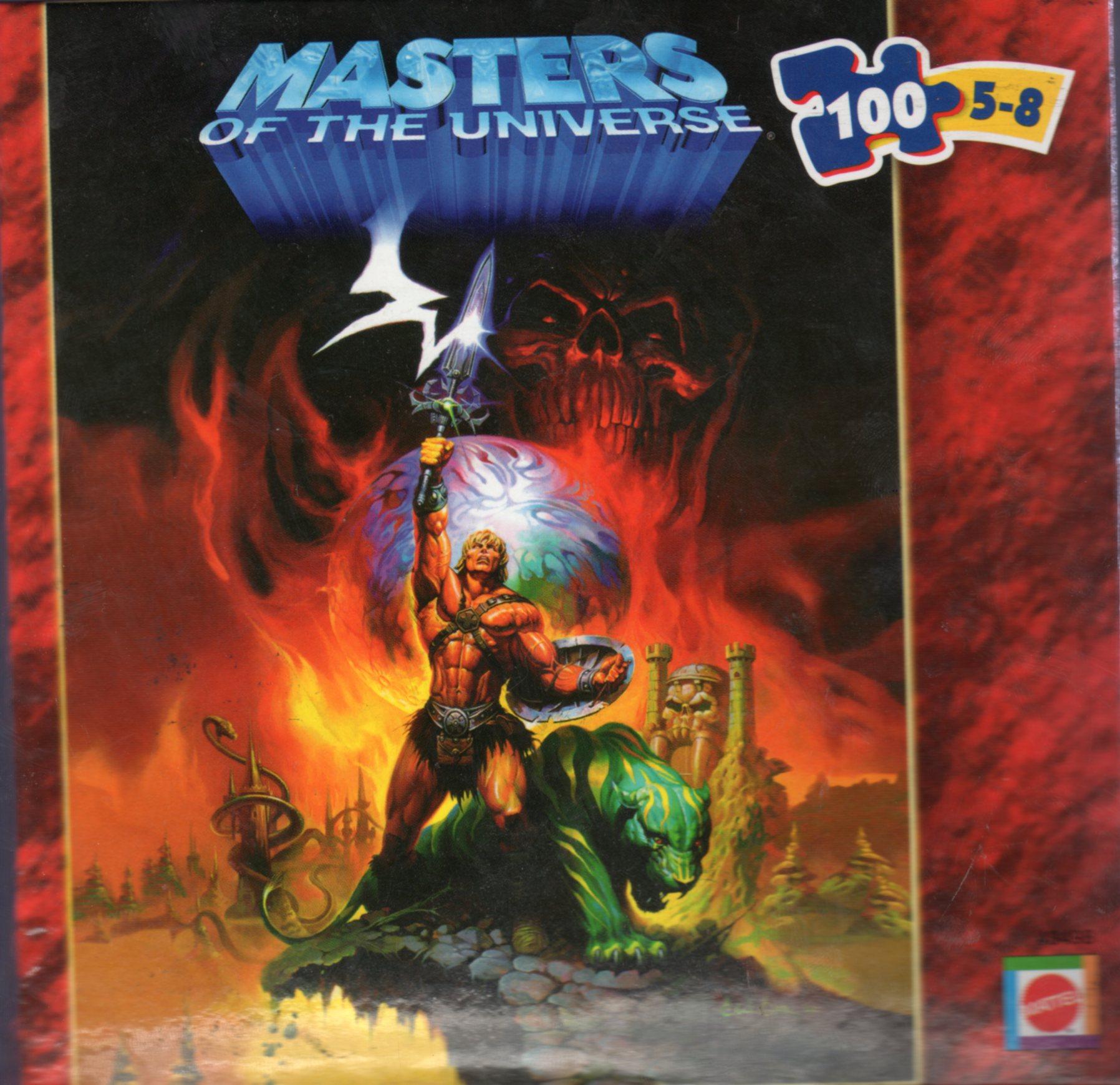 Gt Games Gt Puzzles Gt Mattel 200x He Man