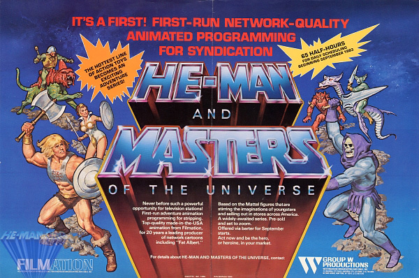 Gt Cartoons And Features Gt He Man And The Masters Of The Universe 1983 85