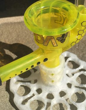 Headdies New DabVac Color Lemon Slyme