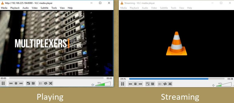 Video Streaming Using VLC Player On Local Computer Or Machine