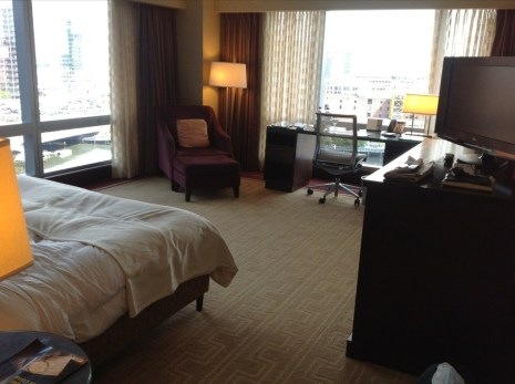 InterContinental Boston review room