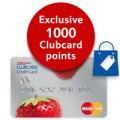 New 1,000 Clubcard points bonus for getting the Tesco MasterCard (plus 1,000 for a referral)