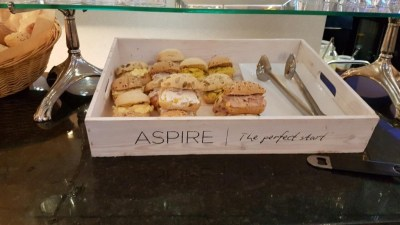Aspire lounge Edinburgh review
