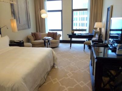 St Regis Doha bedroom