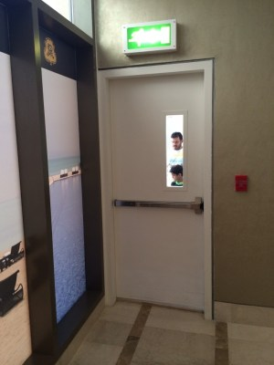 St Regis Doha fire door