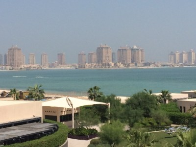 St Regis Doha skyline
