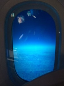 Qatar Airways 787 business class review - windows
