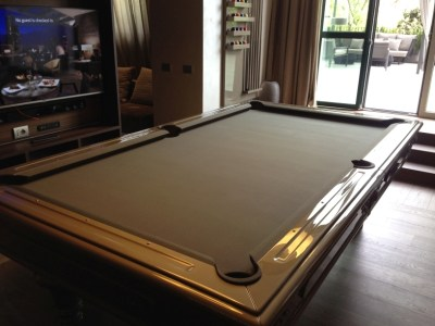 ME Milan ME suite - presidential suite pool table