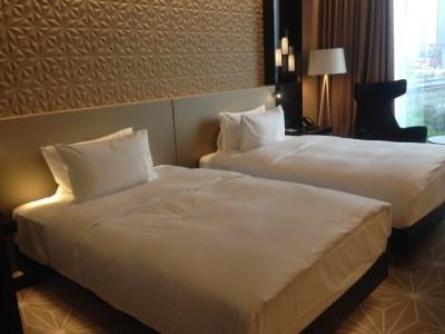 hilton tallinn park review standard room two queensize beds