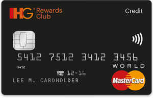IHG Rewards Club credit card premium