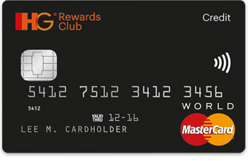 IHG Rewards Club credit card premium