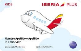 Iberia Plus Kids