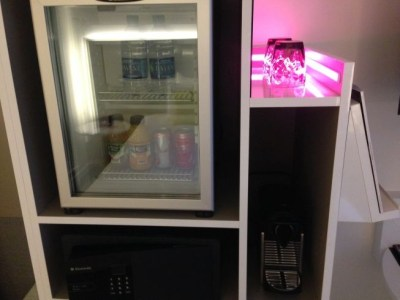 innside melia new york room minibar coffee