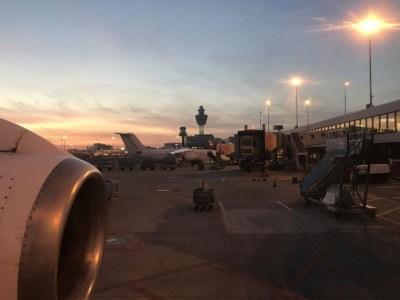 CityJet flight review London City to Amsterdam