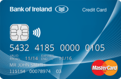 Bank of Ireland credit card