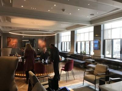 Review new Eurostar business premier lounge Paris Gare du Nord