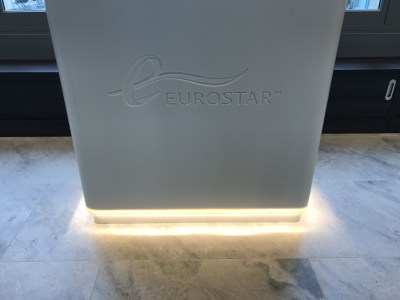 eurostar business premier lounge review check in desk