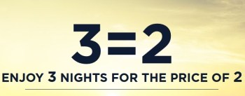 3 for 2 accor hotels