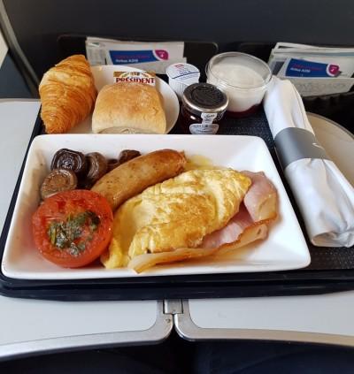 Club Europe breakfast 1