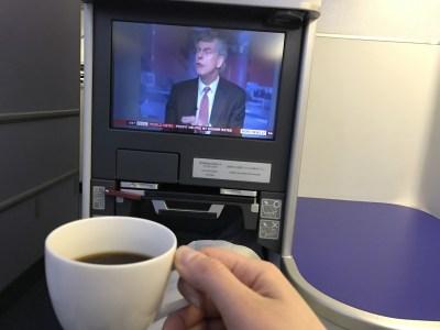 ANA business class review London Heathrow Tokyo Haneda