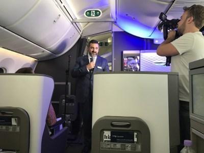 Alex Cruz speech on board