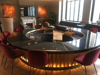 Eurostar Paris Business Premier lounge 3