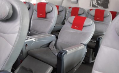 Norwegian premium review - reclined seat pr picture