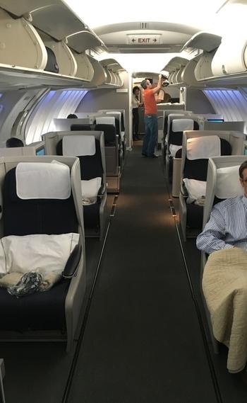 British Airways Boeing 747 upper deck