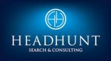 Headhunt Logo med Undertittel