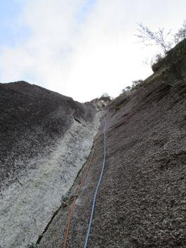 Mont Buffalo, Ozymandias Direct Pitch 2: the Perfect Corner