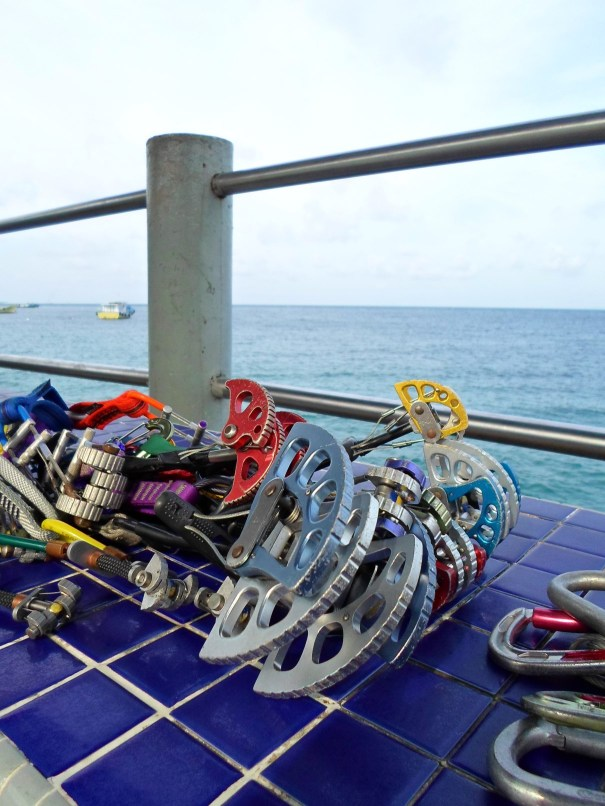 Gear Sort on the Genting jetty Tioman Dragon Horns 5