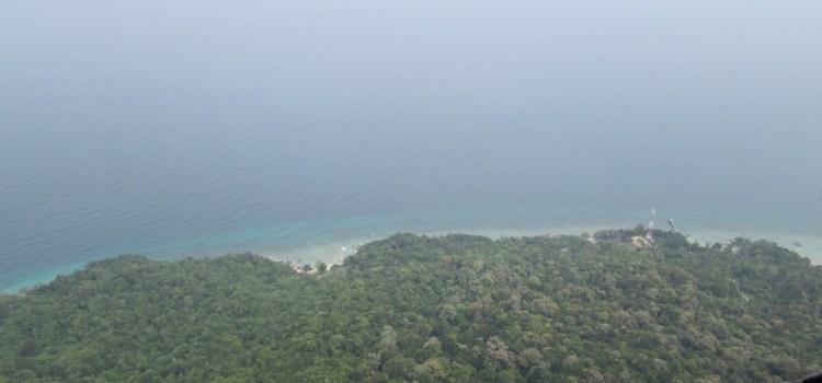 The Dragon's Horns on Tioman Island, Malaysia, Part6: Trip Report, Damai Sentosa 280m / 6c+
