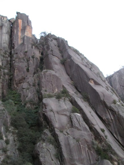 More View on the Angel Butress Mt Buffalo