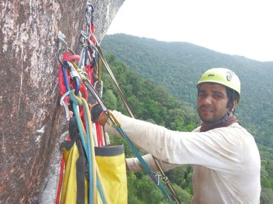 In the name of God - Climber of the Iranian Team April 2015