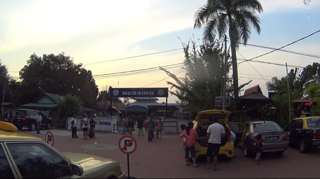 Mersing Ferry Terminal to Tioman