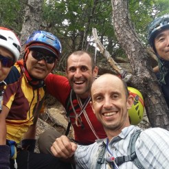 International Friendship Janggun Bong Rock Climbing South Korea Seoraksan