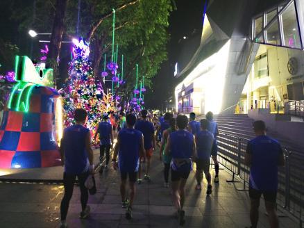 Singapore Marathon Start Orchard 2