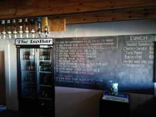 The bar at the flyer's lodge in Porterville