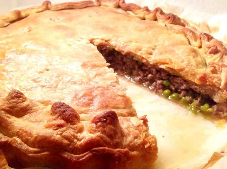 """""""Rustico"""": Savoury Meat Pie - Torta rustica di carne"""