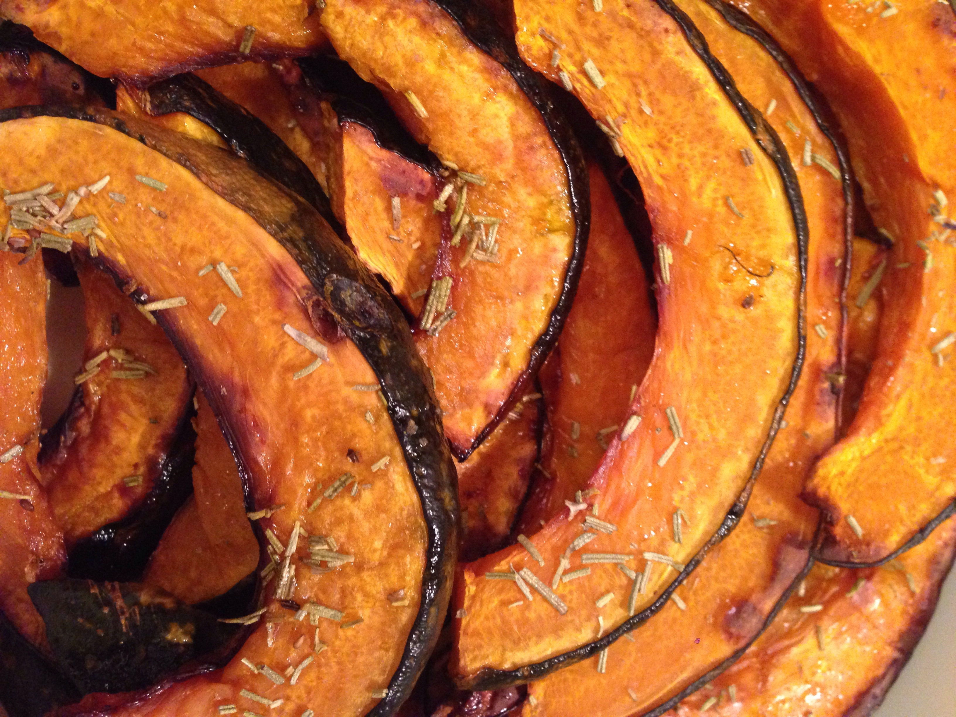 Oven Roasted Pumpkin