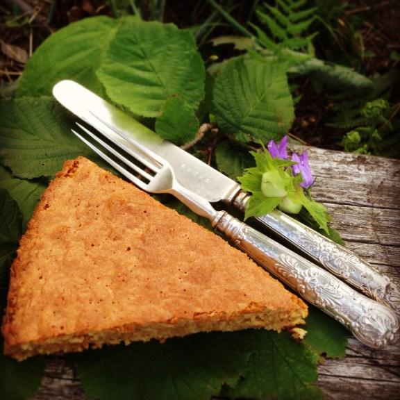 Torta Piemontese di Nocciole - Old Piedmontese Hazelnut Cake