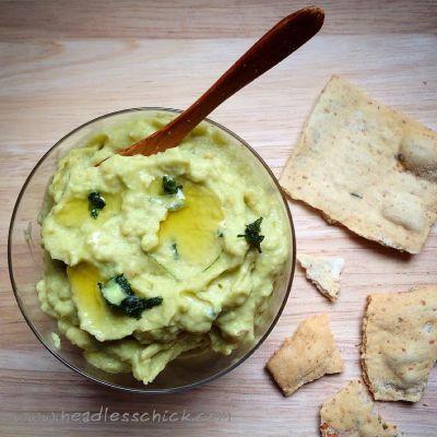 Hummus di Avocado e Coriandolo