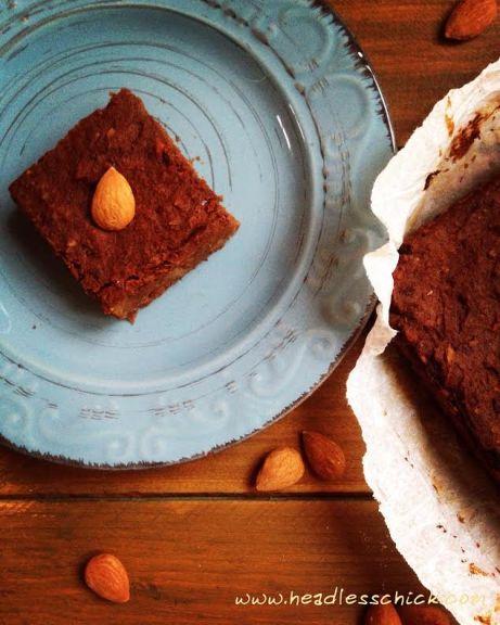 Brownies di Patata dolce e Zucca