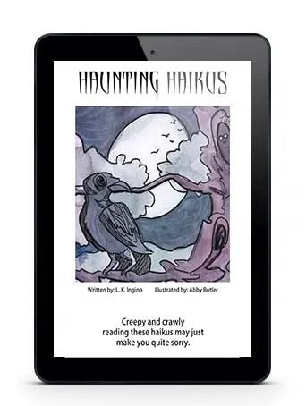 Haunting Haikus ebook mockup