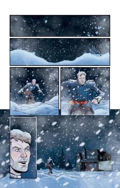 Fangs & Foul Play Issue 0 Page 1