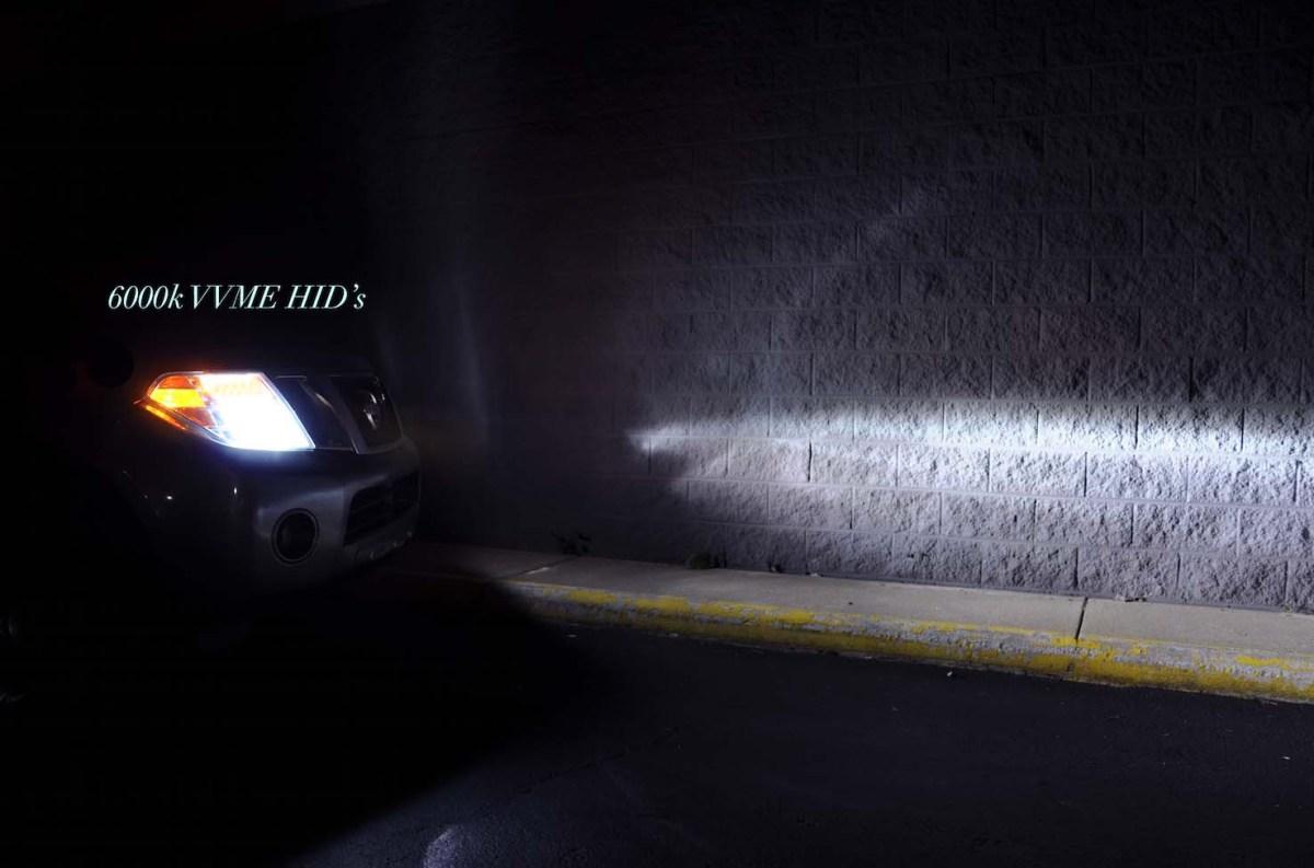 VVME 6000K HID Headlights  Headlight Reviews
