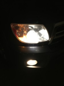 Projector Headlight Housing with GE Nighthawk